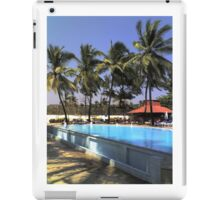 South Beach Swiming Pool iPad Case/Skin