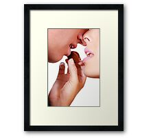 Romantic Chocolate Framed Print