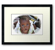 From ZANZIBAR with love.... Framed Print