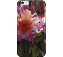 "Watercolor ""Autumn Gold"" Rhododendron  iPhone Case/Skin"