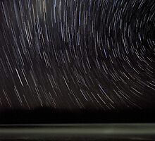 The Star Trail Experience - Old Bar Beach Australia by Matthew Jones