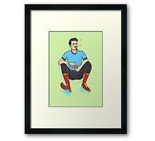 Floating Tony Framed Print