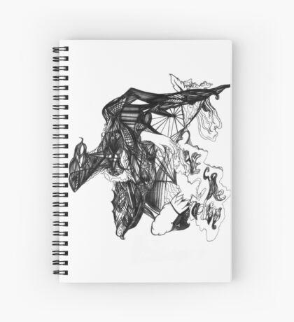 Shape Cluster B Spiral Notebook
