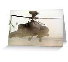 Apache  Greeting Card
