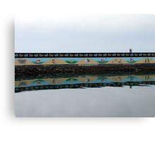 Ogden Point Seawall Canvas Print