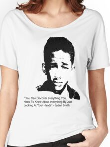 Jaden Smith quote #1 Women's Relaxed Fit T-Shirt