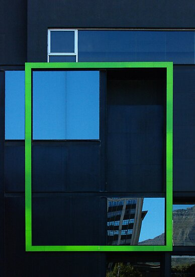 Windows, framed by Erika Gouws