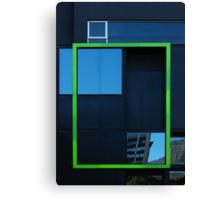 Windows, framed Canvas Print