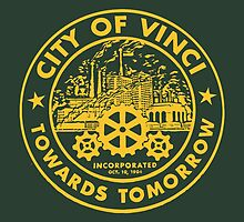 True Detective - City of Vinci logo or by ervinderclan