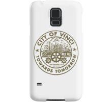 True Detective - City of Vinci logo bl Samsung Galaxy Case/Skin