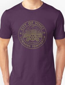 True Detective - City of Vinci logo bl T-Shirt