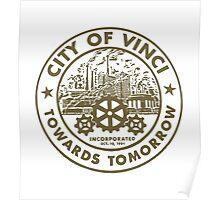 True Detective - City of Vinci logo bl Poster