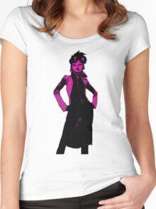 Jubilee X-Men Ink Scratch Women's Fitted Scoop T-Shirt