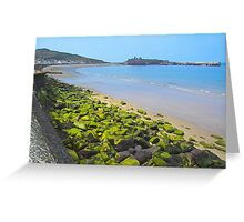 Manx coastline Greeting Card