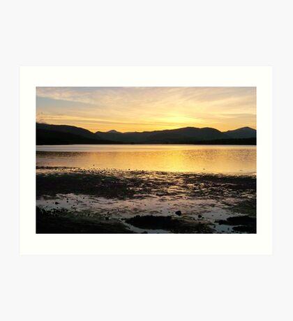 A 82 Scotland Art Print