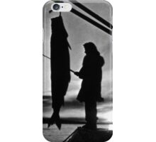 BW Alaska float plane fishing 1970s iPhone Case/Skin