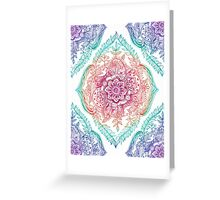Indian Ink - Rainbow version Greeting Card