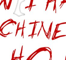 Die Hard - HO HO HO Sticker