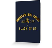 Scream - Class of 96 Greeting Card