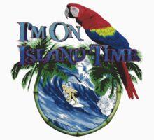 Island Time Surfing Kids Tee