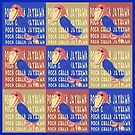 Rock Chalk Jayhawk Pop Art by Ginny Luttrell