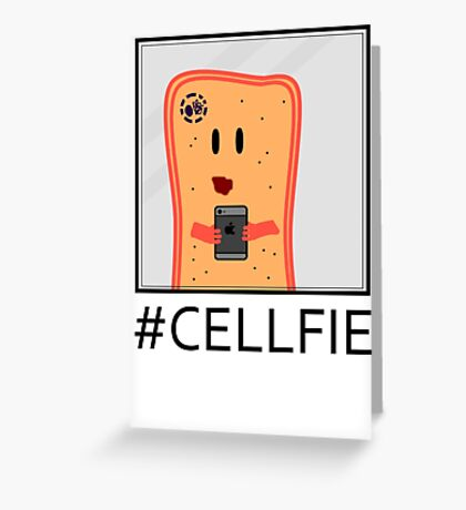 Cellfie Greeting Card