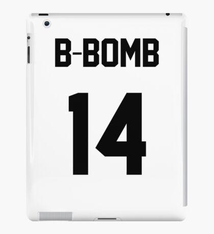 Block B B-Bomb Jersey iPad Case/Skin