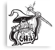 Chili Wizard Breakfast Wizard Metal Print