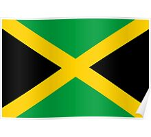 Jamaican Flag Poster