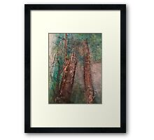 Earth Day Trees Framed Print