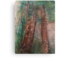 Earth Day Trees Canvas Print