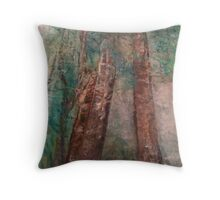Earth Day Trees Throw Pillow