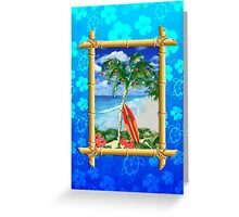 Beach Christmas Greeting Card