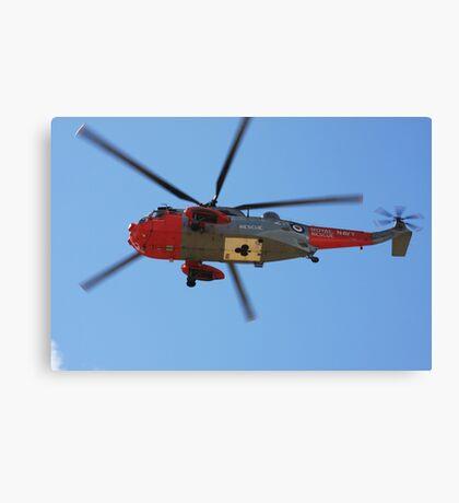 Rescue on Ben Lomond Canvas Print