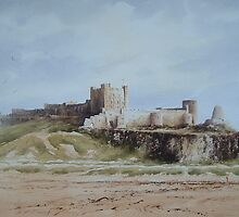 Bamburgh Castle, Northumberland, England by JoeHush