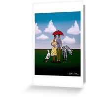 Irreconcilable Differences Greeting Card
