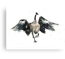 Slippy Goose Canvas Print
