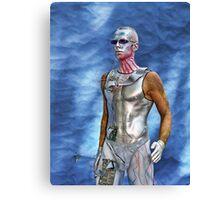 Bodypayting men Canvas Print