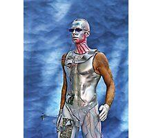 Bodypayting men Photographic Print