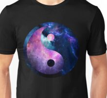 Galaxy Yin and Yang Unisex T-Shirt