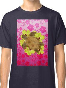 Honu Hawaiian Nautical Map Classic T-Shirt