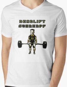 Deadlift Schrempf Mens V-Neck T-Shirt