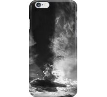 ©HCS Passing By IIA Crepuscular Lights In Monochromatic. iPhone Case/Skin