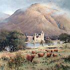 Kilchurn Castle, Scotland by JoeHush