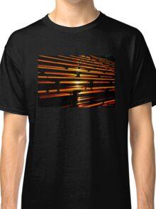 Sunset in the Bleachers Classic T-Shirt