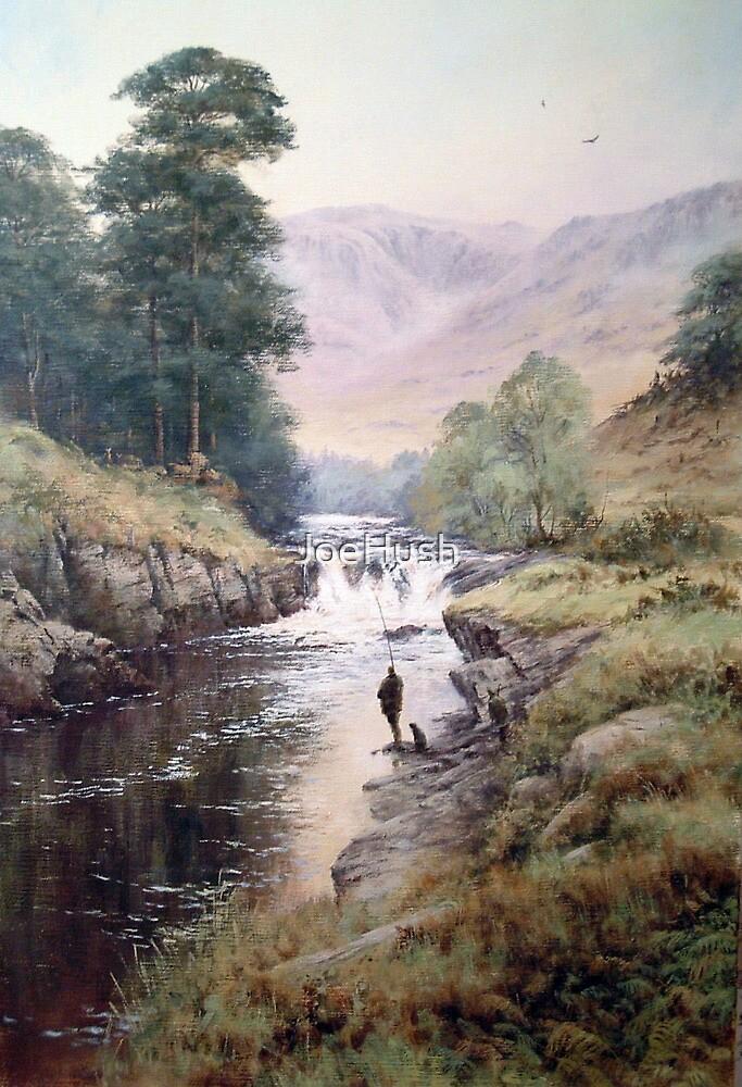 Salmon Fishing, Scotland by JoeHush