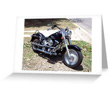 My Ride Greeting Card