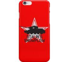 Stalin's Snowplow iPhone Case/Skin