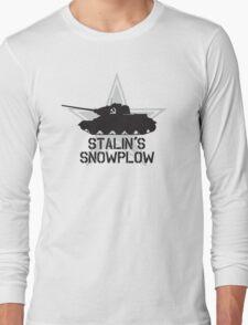 Stalin's Snowplow Long Sleeve T-Shirt