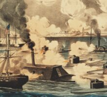 Great Naval Victory in Mobile Bay Aug 5th 1864 Sticker